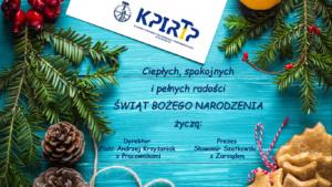 Życzenia - KPIRiP w Bydgoszczy