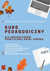 Kurs pedagogiczny_plakat